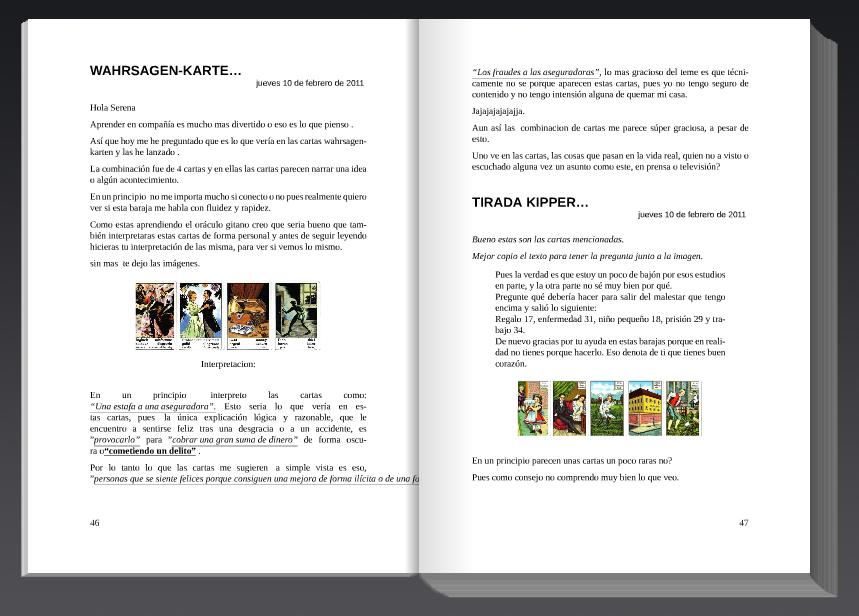 Las Cartas Lenormand en libro … «LAS CARTAS LENORMAND LAS CARTAS ...