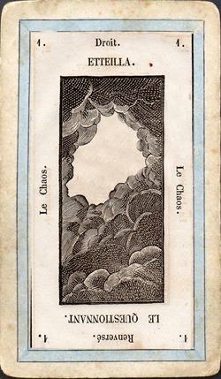 CARTA 1 LISMON  Las cartas lenormand.