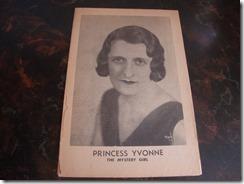 Princess yvonne the mystery Girl