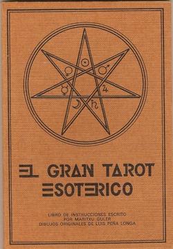 LIBRO GRAN TAROT  ESOTERICO