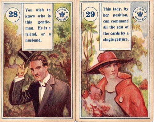 gypsy bijou Cards Lenormand001