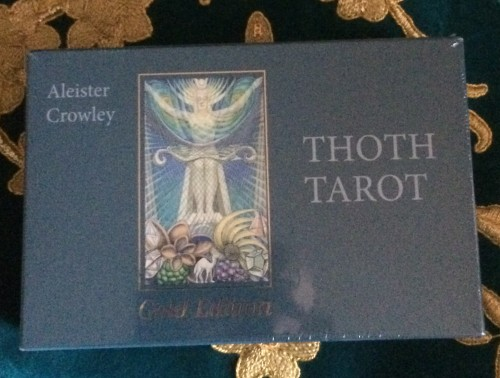 Thot Tarot Gold Edition 1