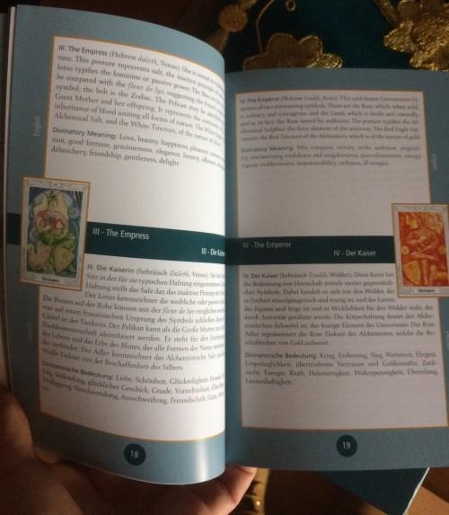 Thot Tarot Gold Edition 4